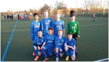 Y8 Runners Up in the Plate final.