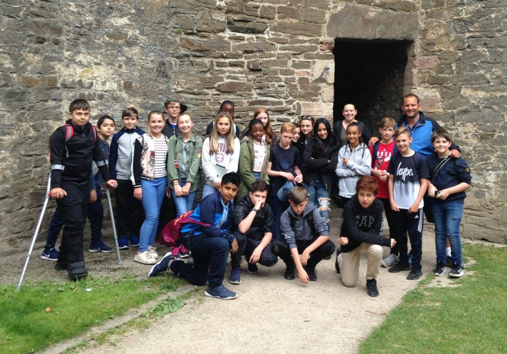 Bridgewater year 7 excursion Conwy Castle