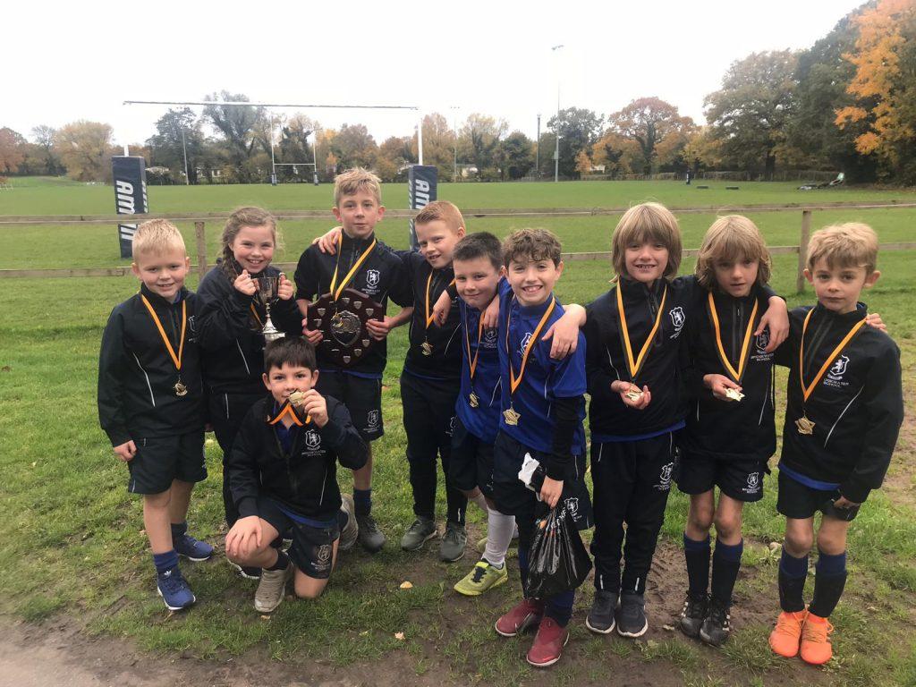 Bridgewater Prep ISA North tag rugby 2018_19 U9 champions