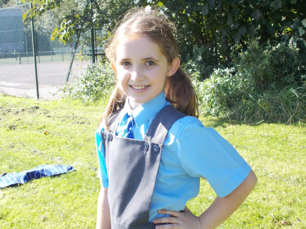 Bridgewater Prep pupil Thea Birch