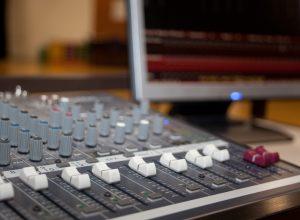 Drama sound desk