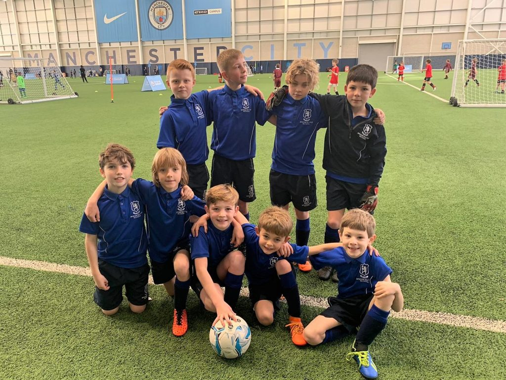 Bridgewater U9s at MCFC Football Festival