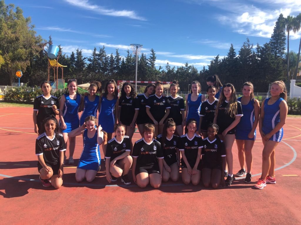 Bridgewater School Malaga sports tour