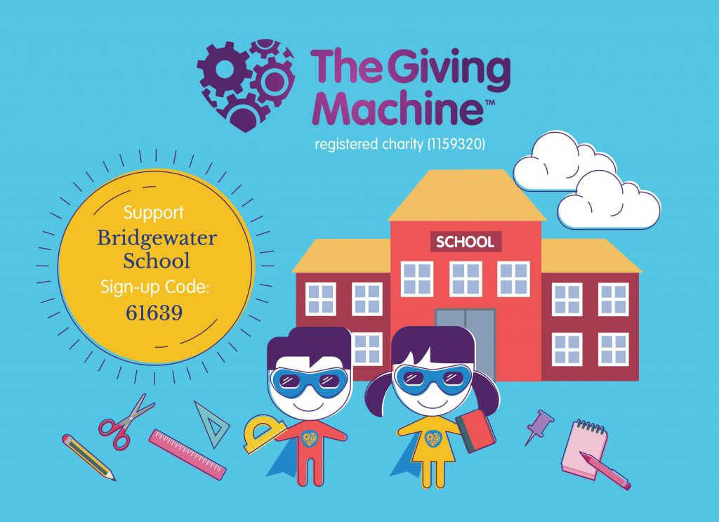 Raise free funds for Bridgewater School