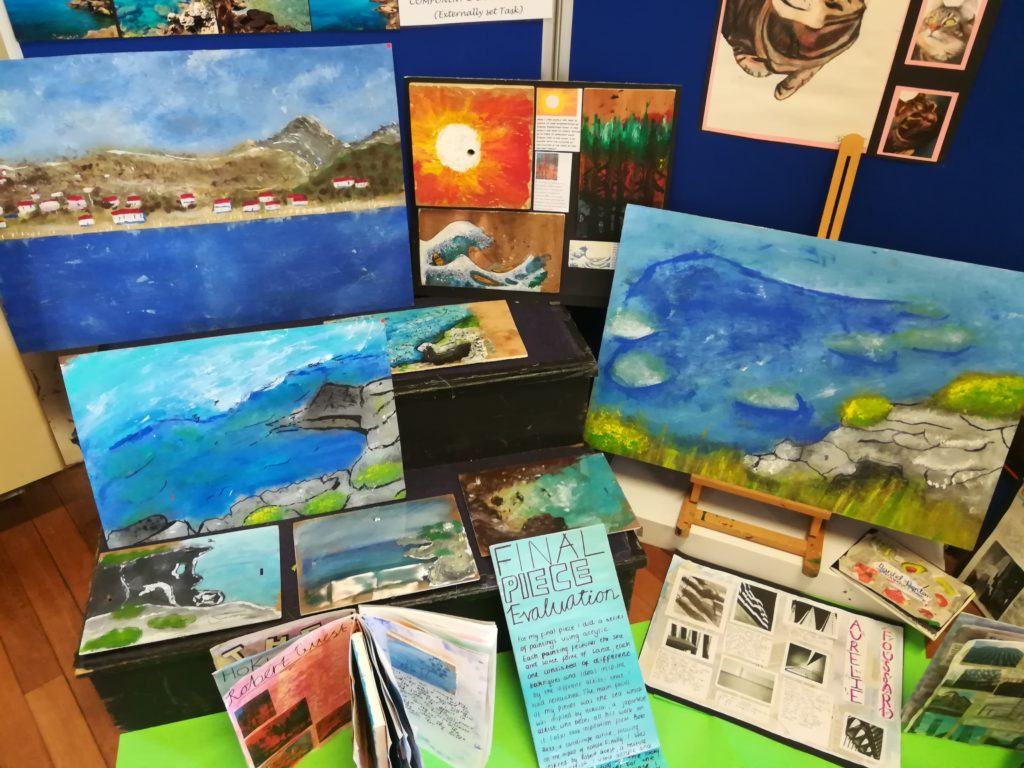 Bridgewater School Annual Art Exhibition image5