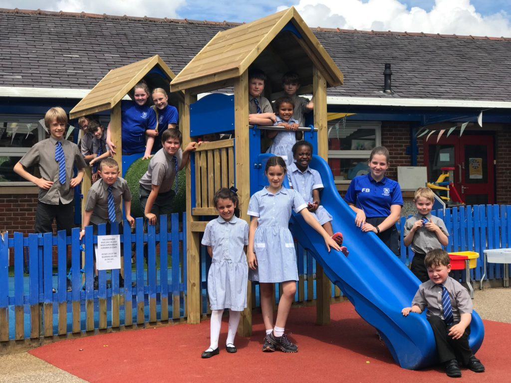 Bridgewater School EYFS adventure playground