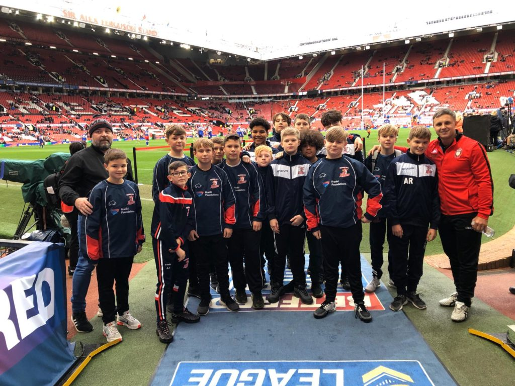 Bridgewater student inspired at Super League Grand Final 2019