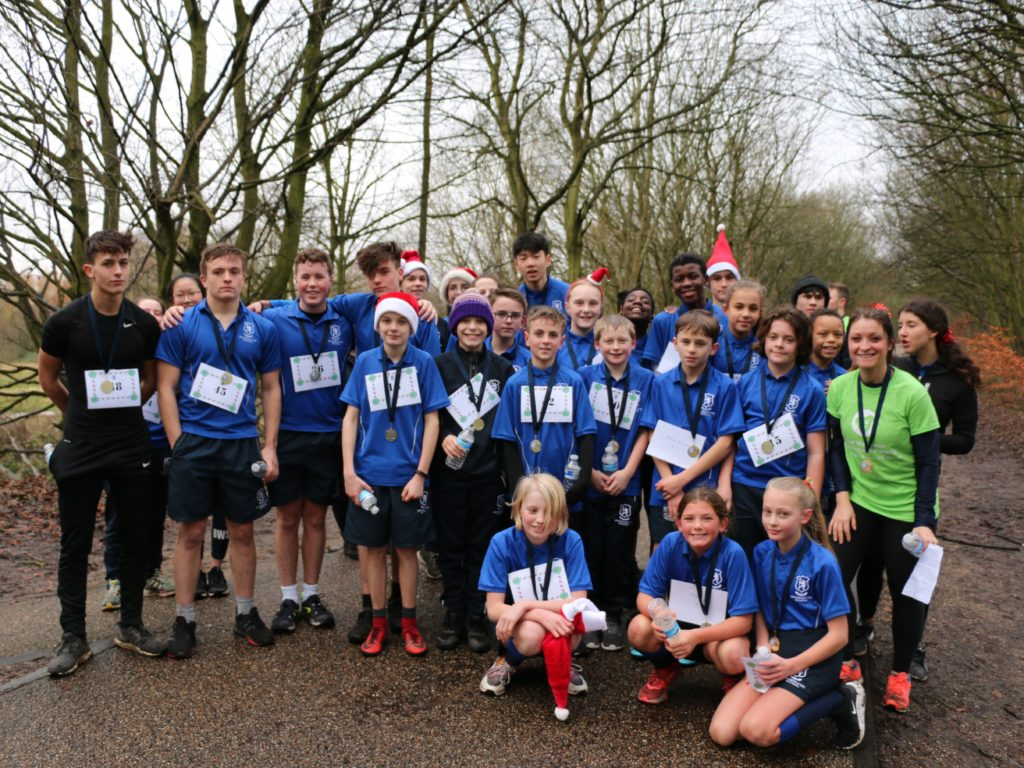 Bridgewater School's 2019 Festive 5K for Royal Manchester Children's Hospital Charity