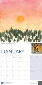 Bridgewater Worsley Woods calendar January