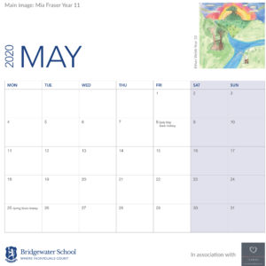 2020 Woodland Calendar May supportimage