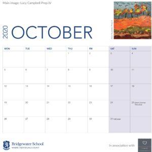 2020 Woodland Calendar October supportimage