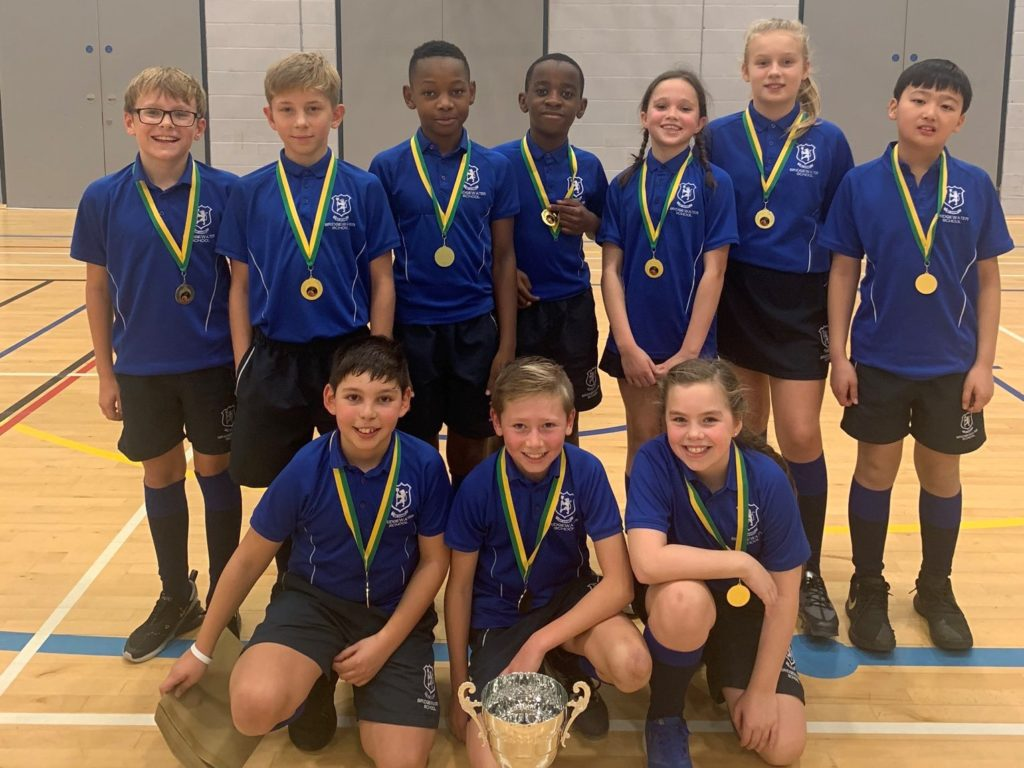 ISA North 2019 U11 Basketball Champions