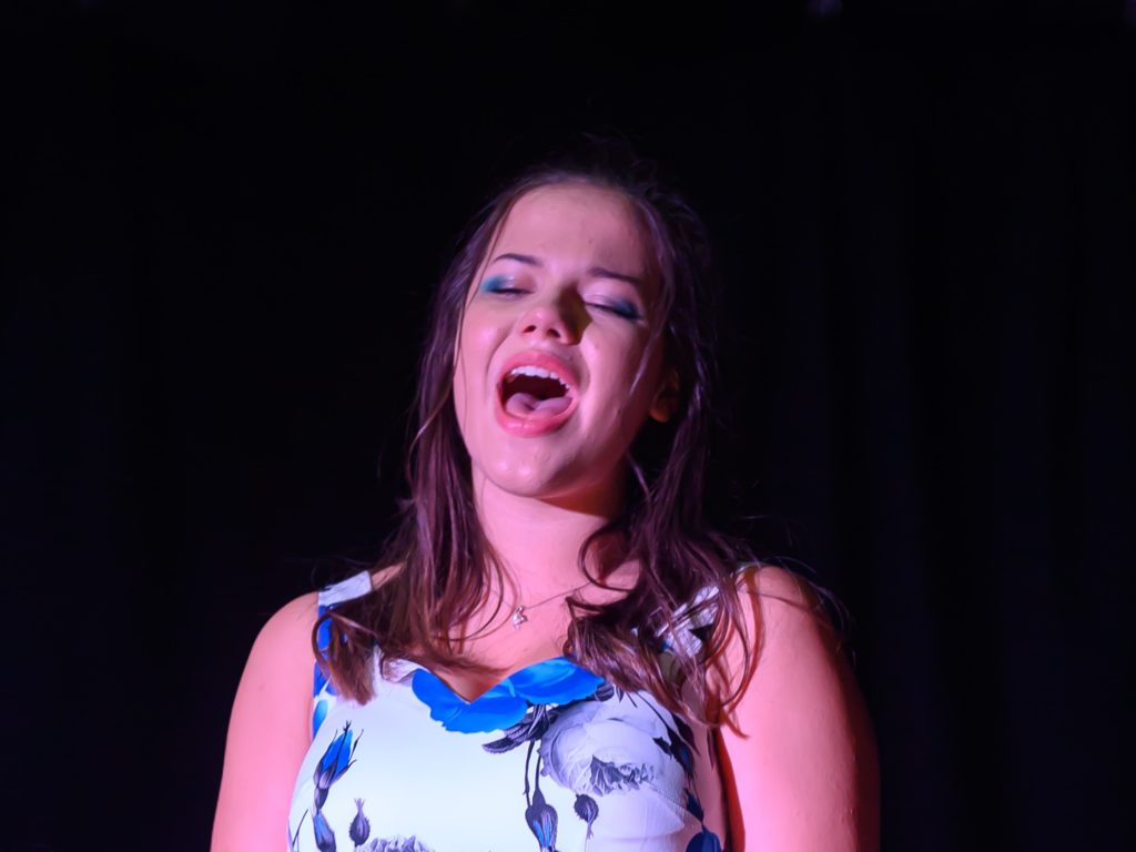 Bridgewater School talent show 2019 winner Saskia Beswick