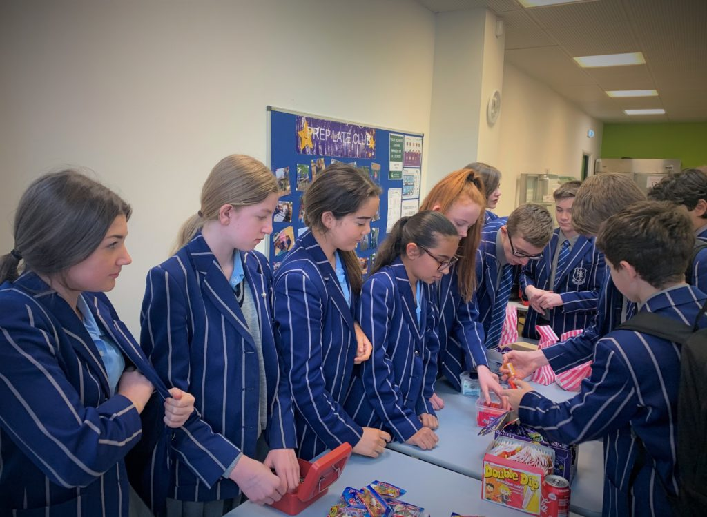 Bridgewater Y8 students drive initiative to help children living in poverty