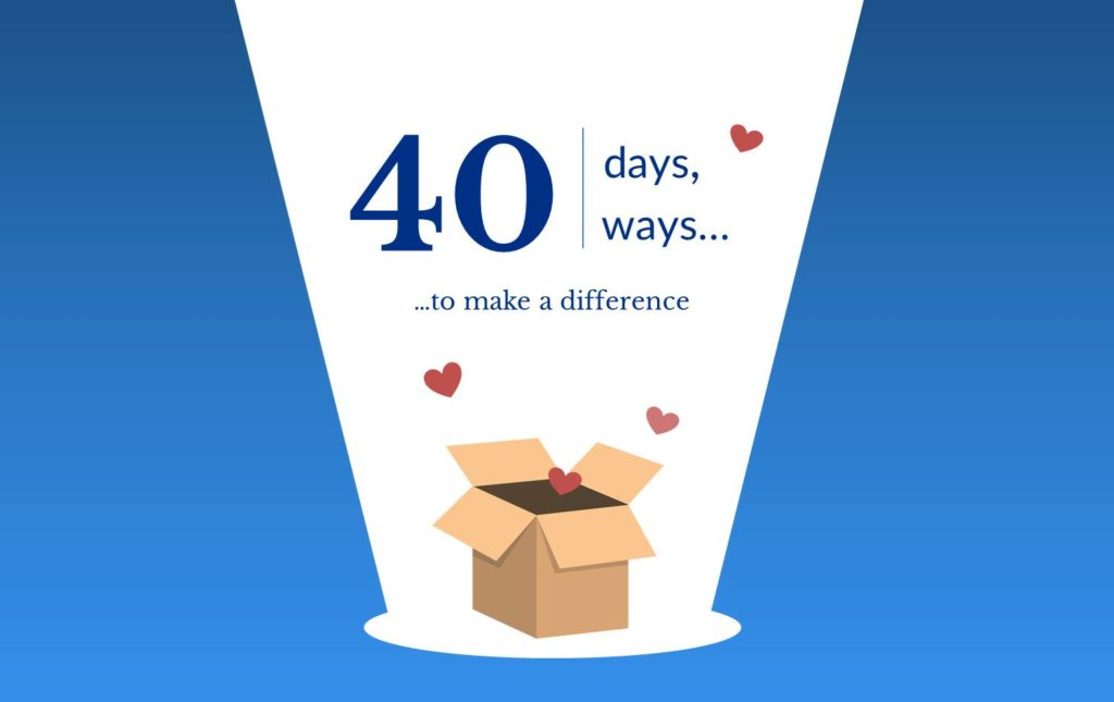 40 Days 40 Ways initiative