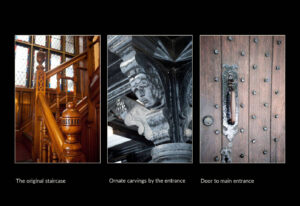 Detailed images of Drywood Hall