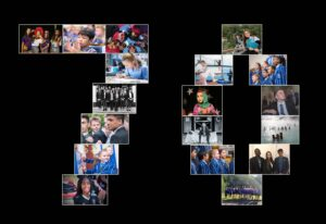 Bridgewater School 70 image collage
