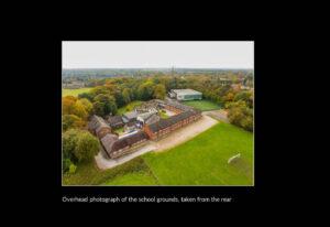 Overhead image of Bridgewater School grounds