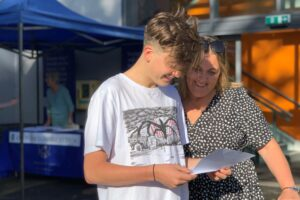 Bridgewater School 2020 GCSE results day