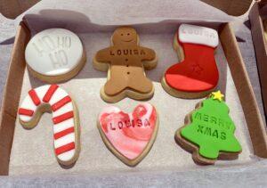 Harrison and Jensens Christmas Cookies