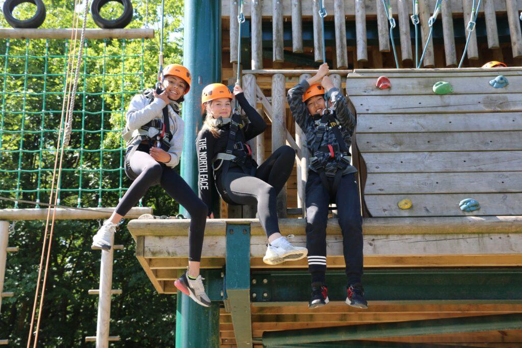 Prep aerial adventure at Haigh Woodland Park